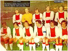 EQUIPOS DE FÚTBOL: AJAX DE ÁMSTERDAM 1970-71