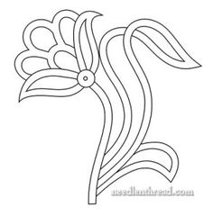 Free Easter Hand Embroidery Patterns those Embroidery Hoop Pin Display other Free Printable Embroidery Patterns For Beginners whether Hand Embroidery Designs And Patterns Bead Embroidery Patterns, Paper Embroidery, Learn Embroidery, Applique Patterns, Beaded Embroidery, Flower Patterns, Embroidery Stitches, Embroidery Designs, Flower Embroidery