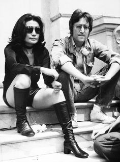 20 Stunning Vintage Photos of the Best Dressed Stars at the Cannes Film Festival - Yoko Ono and John Lennon, 1970  - from InStyle.com