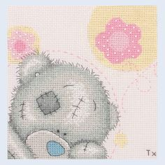 Free Counted Cross Stitch Charts | ... Pink - Me To You - Tatty Teddy - counted cross stitch kit Coats Crafts