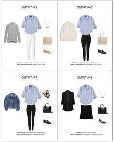 The French Minimalist Capsule Wardrobe Spring 2018 - sample page 2