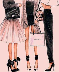 Coco Chanel, Art Chanel, Chanel Print, Art Mural Fashion, Fashion Prints, Fashion Art, Fashion Design, Chanel Fashion, Coco Fashion