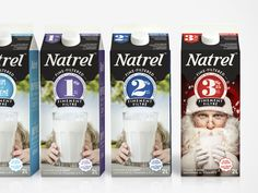 Natrel | Édition spéciale Noël / Christmas Special Edition | Emballage / Packaging | lg2boutique