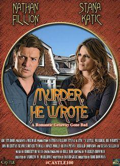 #MurderHeWrote #Castle100 By LordofKavaka