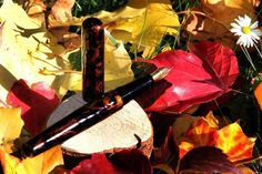 Fountain pen, ink, urushi, lacquer, handmade, Füllfeder, Tinte, Lack, selbstgemacht Dyes, Homemade
