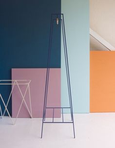 'A' clothes rail in blue #andnewfurniture