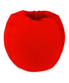 Tomato Red Beanbag Chair