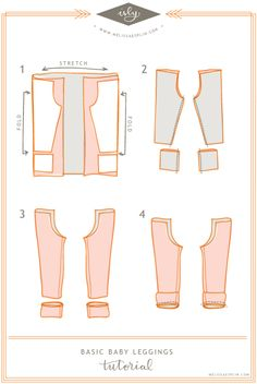 There are a million and a half legging tutorials out there and how to make your own. No joke. This is one of them. How is this any different than the others? The tutorial is illustrated(makes it ea…