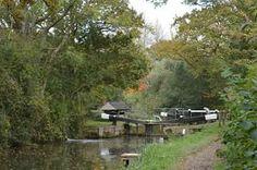 Baldwins knob lock on the wey and arun canal