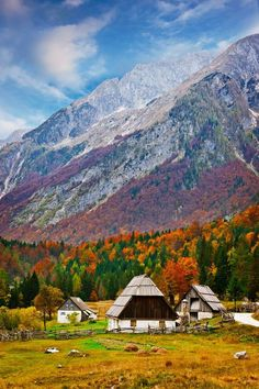 Autumn, Julian Alps, Slovenia photo by andrej