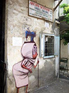 Bandra, Mumbai by Seth the Globepainter Graffiti Artists | Urban Art & Street Art Murals : Vol 7