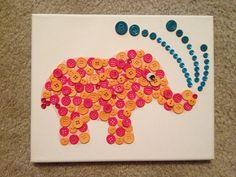 DIY Artwork for Nursery, cute