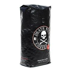 Death Wish Coffee, The World's Strongest Coffee, Whole Bean, Fair Trade, Organic, Shade Grown, 16 oz Bag - anyone brave enough to try this with me?