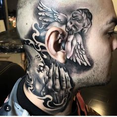 42 Amusing Pics and Images That Will Entertain You neck tattoos 42 Amusing Pics and Images That Will Entertain You Evil Tattoos, Face Tattoos, Badass Tattoos, Skull Tattoos, Body Art Tattoos, Tatoos, Awful Tattoos, Gangsta Tattoos, Chicano Tattoos