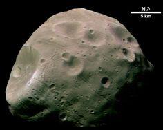 Phobos, la luna condenada de Marte