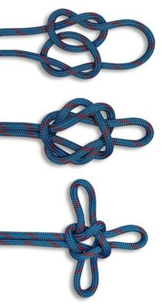The Sailor's Cross is a decorative knot and a variety on the True Lover's Knot. In this HOW TO TIE KNOTS, learn how to tie a Sailor's Cross. Survival Knots, Survival Skills, Rope Knots, Macrame Knots, Bushcraft, Sailors Cross, Sailor Knot Bracelet, Decorative Knots, Nautical Knots