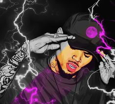 Image may contain: 1 person Chris Brown Drawing, Chris Brown Art, Dope Wallpapers, Celebrity Wallpapers, Chris Brown Outfits, Chris Brown Wallpaper, Hipster Haircuts For Men, Rauch Fotografie, Chirs Brown