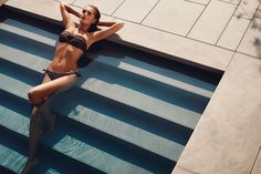 TWIN-SET Simona Barbieri: padded bandeau bra in zebra print doubled with heart with sequin embroidery and tanga with bows and logo at back