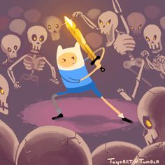 Finn the human Adventure Time Crossover, Adventure Time Tumblr, Adventure Time Anime, Adventure Awaits, Cartoon As Anime, Cartoon Shows, Cartoon Characters, Princesse Chewing-gum, Abenteuerzeit Mit Finn Und Jake