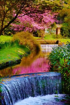 Garden of Ninfa, Central Italy jigsaw puzzle in Flowers puzzles on TheJigsawPuzzles.com