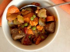 Clean Eating Chunky Beef Soup