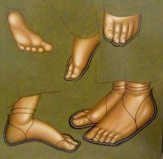 .More feet