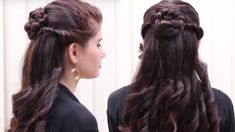 Hairstyles For Girls Quick Hairstyles For Long Hair Tutorial  Simple Hairstyles For