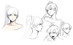 Rooster Teeth Productions Presents RWBY Concept Art by Ein Lee (Q&A)