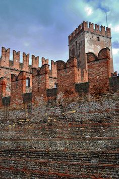 This is the castle in Verona, Italy.  - Laura Peppe