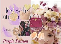 """""""Valentines Purple Passion"""" by girlgonegreen on Polyvore"""