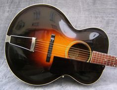 Vintage Gibson L-4 Round Hole Archtop Acoustic Guitar