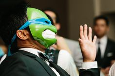 Great idea for a rehearsal dinner - masquerade party! Costa Rica Wedding Photographers for Style Savvy Brides | A Brit & A Blonde