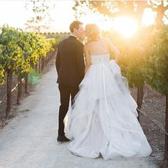 Alvina Valenta Bridal. Style 9551. Call to schedule an appointment. Del Mar, CA (858) 481-4900 and Fresno, CA (559) 435-1246. #miabellacouture #miabellabridal #californiaglam #alvinavalenta #bridal #bride #groom #weddingday #weddingdress #bridalgown #specialday #kiss #love #sunset