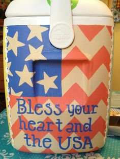 Bless your heart and the USA #coolers