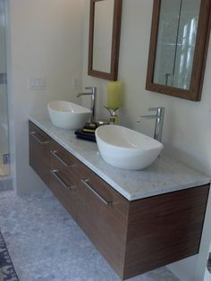 Sleek sink inspiration only from Carmel California real estate.