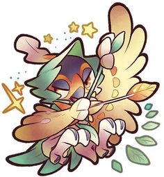 Decidueye by roroto531 on DeviantArt