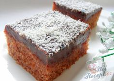 Gingerbread with sour cream NejRecept.cz Gingerbread with sour cream NejRecept. Czech Recipes, Easy Cake Recipes, Sweet Cakes, Sour Cream, Cream Cream, Coco, Food Inspiration, Banana Bread, Gingerbread