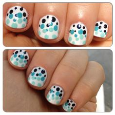 Polka Dot Nails and Trinity Place Sweepstakes!