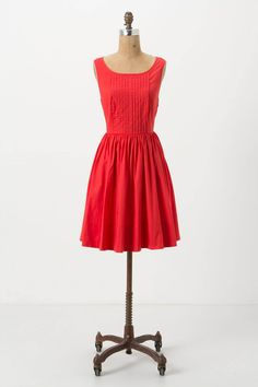 Sweet Enticement Dress - Anthropologie.com.  Nice bright summer dress, with great backing detail!  $118