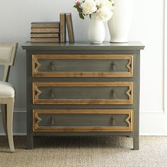 European Chest. This would make for a great DIY with hardware store trim