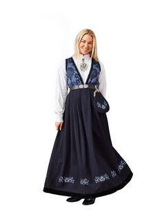 Blå Pascal festdrakt til dame Folk Costume, Costumes, Ballerina, Victorian, My Style, Dame, Google Search, Dresses, Crafts