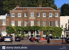 Carlton mitre hotel- right across the street from Hampton Court palace