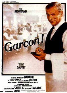 Film Garçon! de Claude Sautet avec Yves Montand