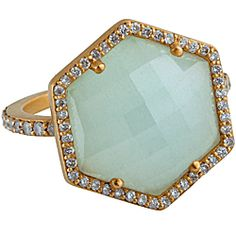 While many wearers admire the splendor of the aquamarine, the gemstone seems to hold particularly potent powers for sailors and couples. As its name implies, March's birthstone often takes on the blue-green hue of the ocean (though deep blue is its rarest shade). This may explain why seafarers have traditionally worn the gem not only to keep them safe but also to ward off seasickness. The stone is also said to soothe spouses; supposedly aquamarine can awaken love in a tired marriage. No…