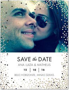 Site de casamento de Ana Luiza e Matheus