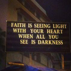 Let faith be your light