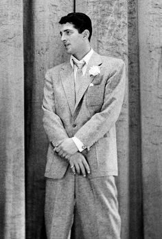Dean Martin on the set of NBC's The Jack Carter Show, 1950
