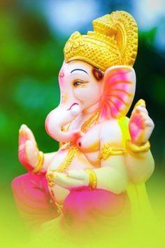 Devotees believe that if Ganesha is propitiated, he grants success, prosperity and protection against adversity. Baby Ganesha, Lord Ganesha, Jai Ganesh, Shree Ganesh, Ganesha Art, Phone Wallpaper For Men, Emoji Wallpaper Iphone, Durga Images, Ganesh Images