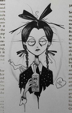 Pin by Peter Striemann on Tim burton art in 2019 Arte Tim Burton, Tim Burton Stil, Tim Burton Kunst, Creepy Tattoos, Creepy Drawings, Creepy Art, Cool Drawings, Tim Burton Drawings Style, Tim Burton Art Style