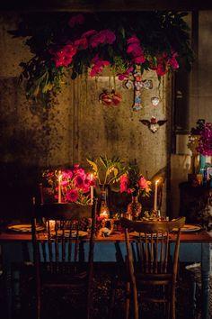 Ethnic Wedding, Floral Wedding, Wedding Flowers, Gypsy Wedding, Wedding Shoot, Fall Wedding, Frida Kahlo Wedding, Anemone Bouquet, Bohemian Wedding Decorations